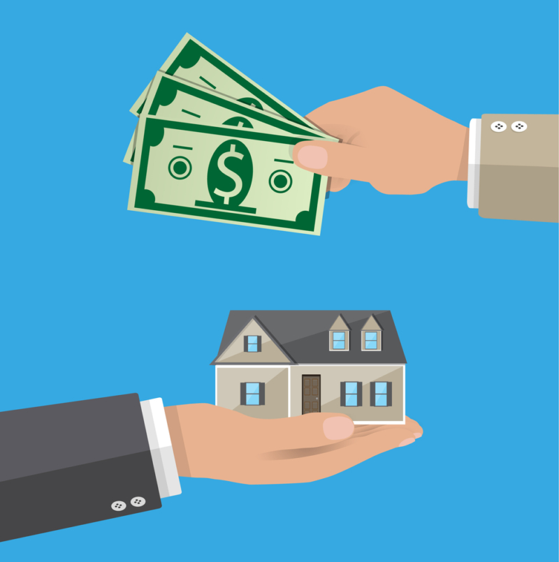 buying home with cash